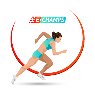 Легкая атлетика,  Athletics, e-Champs
