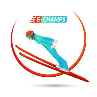 Прыжки на лыжах с трамплина,  Ski-jumping, e-Champs