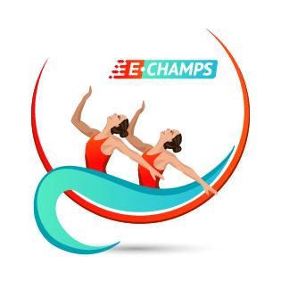 Синхронное плавание,  Synchronized swimming, e-Champs