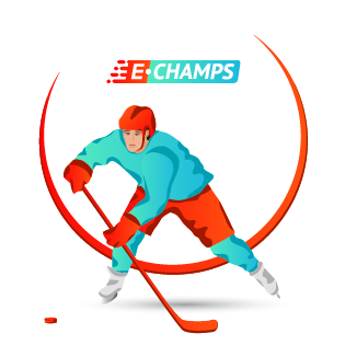 Хоккей,  Ice Hockey, e-Champs