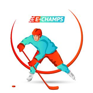 Хоккей,  Ice Hockey, e-Champs