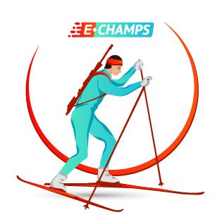 Биатлон,  Biathlon, e-Champs
