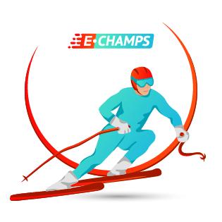 Горнолыжный спорт,  Skiing, e-Champs