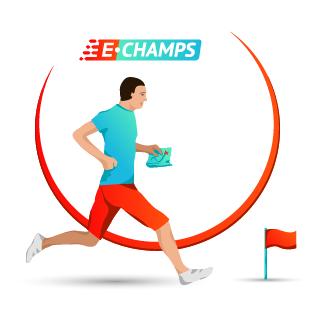 Спортивное ориентирование,  Orienteering, e-Champs