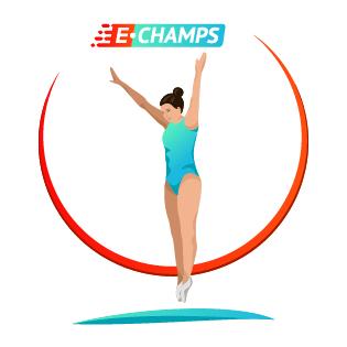 Прыжки на батуте,  Trampoline, e-Champs