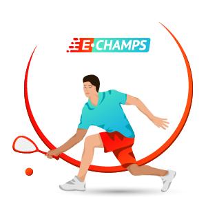 Сквош,  Squash, e-Champs
