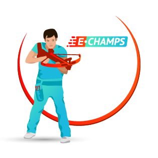 Crossbow shooting, e-Champs