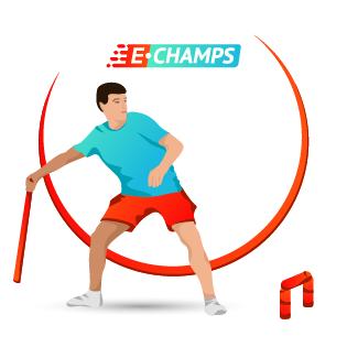 Городошный спорт,  Gorodki Sport, e-Champs