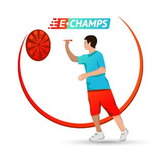 Дартс,  Darts, e-Champs