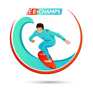 Серфинг,  Surfing, e-Champs