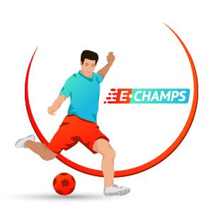 Футбол,  Football, e-Champs