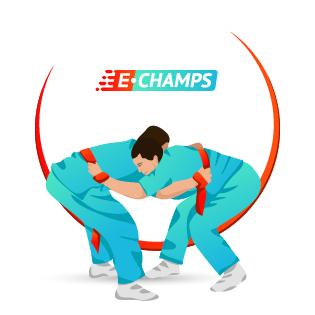 Борьба на поясах,  Belt Wrestling, e-Champs