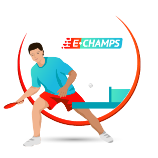 Настольный теннис,  Table tennis, e-Champs