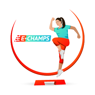 Фитнес-аэробика,  Sports, Aerobics and Fitness, e-Champs
