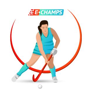 Хоккей на траве,  Field hockey, e-Champs