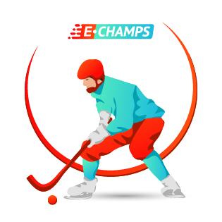 Хоккей с мячом,  Ball hockey, e-Champs