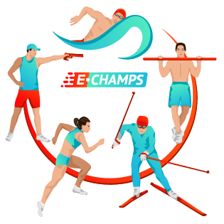Полиатлон,  Polyathlon, e-Champs