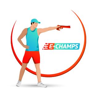 Пулевая стрельба,  Shooting, e-Champs