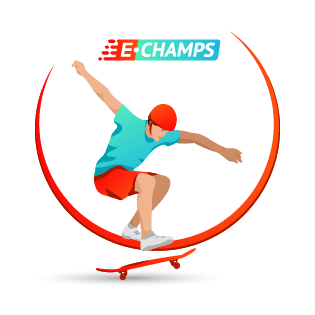 Скейтбординг,  Skateboarding, e-Champs