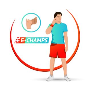 Спорт глухих,  Deaf sport, e-Champs