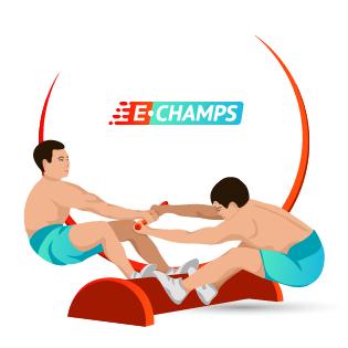 Мас-рестлинг,  Mas wrestling (Russia), e-Champs