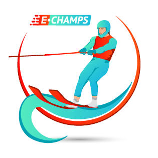 Воднолыжный спорт,  Water skiing, e-Champs