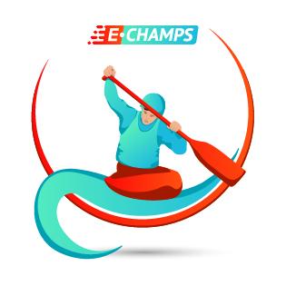 Гребной слалом,  Canoe Slalom, e-Champs