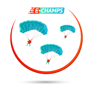 Парашютный спорт,  Parachuting, e-Champs