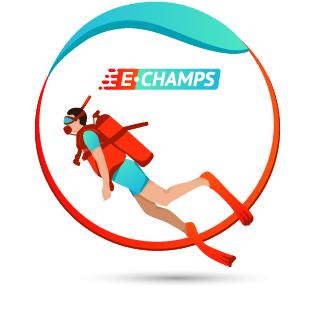 Подводный спорт,  Underwater sports, e-Champs