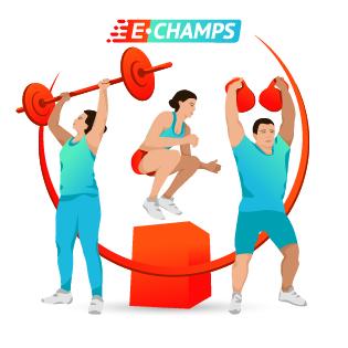 Функциональное многоборье,  Functional all-around, e-Champs