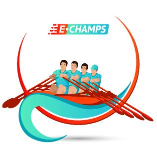 Гребной спорт,  Rowing, e-Champs