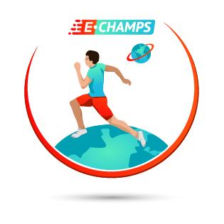 Онлайн соревнования по бегу,  Online running, e-Champs