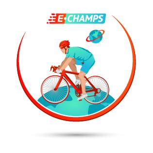 Онлайн соревнования по велоспорту,  Online cycling, e-Champs