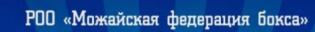 """РОО """"Можайская федерация бокса"""""""