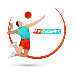Волейбол,  Volleyball, e-Champs